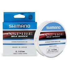 FILO SHIMANO ASPIRE SILK SHOCK 150m 0.18mm 3.6KG PARATURE FINALI MARE TROTA LAGO