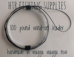 HTR Fishing Supplies 100 pound Wind-On Leader