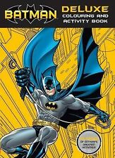 Batman Deluxe Colouring and Activity Book by Scholastic Australia (Novelty book, 2015)