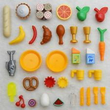 35+ LEGO FOOD & DRINK LOT new parts accessories banana pizza hot dog pretzel pie