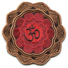 ZEN om mandala EMBROIDERED IRON-ON PATCH Free Shipping 3796 buddha buddhism yoga