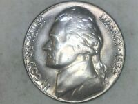 1954 D Jefferson Nickel  BU !  - Free Shipping ! GREAT GIFT IDEA ! TAKE A LOOK !