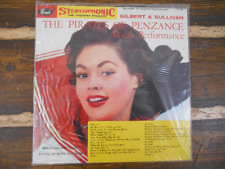 Gilbert & Sullivan The Pirates of Penzance Vintage Vinyl Record LP New
