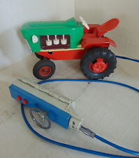 FORD tractor Vintage remote control tin toy battery operated