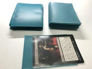 Lenayuyu 160pcs PROTECTOR Card Sleeves petrolblue color 66mm*91mm Matte On Sale