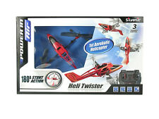 Silverlit Heli Twister 3-Channel Remote Control Indoor 3D Stunter (Assorted Colo