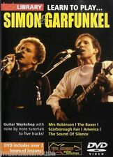 LICK LIBRARY Learn To Play SIMON & GARFUNKEL The Boxer Mrs Robinson GUITAR DVD