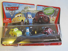 Disney Cars 2 - Exclusive Vehicles - Luigi, Guido & Uncle Topolino - Ages 3 & up