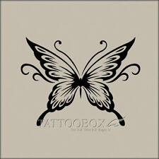 Reusable airbrush tattoo stencils templates  - Butterfly 1 (Medium size)