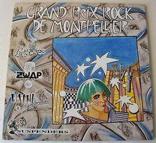 V/A G.P. Rock de Montpellier LP MAROTTES-ZWAP-SUSPENDERS-USINE & SENTIMENTS -NEW