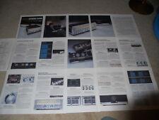 Sansui G33000, G22000, G33k, G22k Brochure, 16 pg, 1980, Articles, Pics, Specs