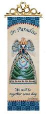 Welcome Home Angel Remembrance Tapestry Wall Hanging Panel ~ Artist, Jim Shore