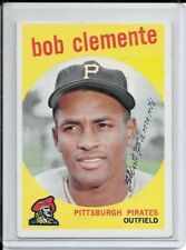 1959 Topps Roberto Clemente Pirates legend HOF Vintage Single Set Fill VG-EX
