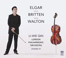 NEW - Elgar / Britten / Walton by Li-Wei Qin: cello