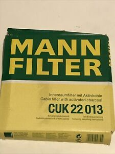 Mann Cabin Filter  CUK22013 For Ford