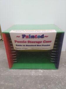 Melissa & Doug Painted Puzzle Storage Case