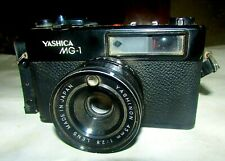 YASHICA MG-1 Camera, very good working, Rangefinder 45mm 1:2.8 Lens, Camera Film