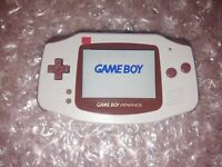 Nintendo Gameboy Advance GBA IPS V2 Lt. Gray + Audio Amp w/ Adj. Brightness