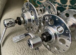 Campagnolo Nuovo Tipo Large Flange Hubset 36 Hole 5 Speed (120mm rear spacing)