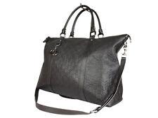 Gucci Guccissima Leather Dark Brown Shoulder Bag GS2551