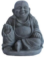 Buddha Figur 19cm stein statue buddafigur feng shui buddhismus großer budda NEU