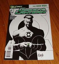 2011 Green Lantern #1 Greg Capullo Sketch Variant Edition 1st Print DC New 52