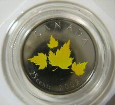 RCM - 2009 - 25-cent - Oh Canada - Maple leaf - NBU - Original Sealed - One Coin