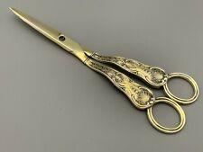 George III Silver Gilt Grape Scissors