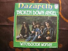 SP NAZARETH - Broken Down Angel / Philips 6000 113  France (1973)  Série Parade