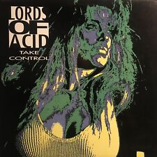 LORDS OF ACID • Take Control • Vinile 12 Mix • 1991 Complete Kaos