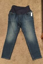 NWT! Old Navy Maternity Rock Star Super Skinny Full Panel Jeans - Size 16