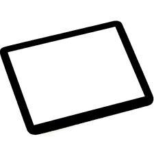 Nouveau verre optique protecteur pour écran LCD pour Nikon D3 D3X Appareil photo numérique partie