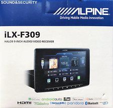 "ALPINE ILX-F309 HALO9 9"" DIGITAL MEDIA RECEIVER CARPLAY/ANDROID AUTO HD RADIO"
