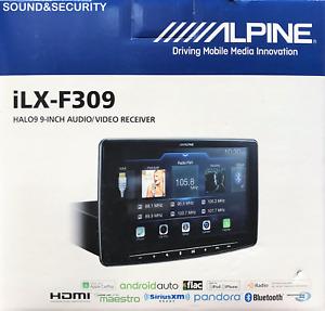 "ALPINE ILX-F309 HALO9 9"" DIGITAL MEDIA RECEIVER CARPLAY/ANDROID AUTO HD RADIO"