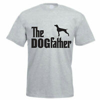 THE DOGFATHER - Pointer / Pet / Dog / Funny Gift Idea Mens T-Shirt