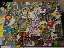 Ceaco One Hundred Elephants and a Mouse Jigsaw Puzzle 750 pieces Whitlark