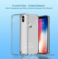 For Apple iPhone X 10 Chivel  [Clear Crystal] Shockproof Case Slim TPU Cover