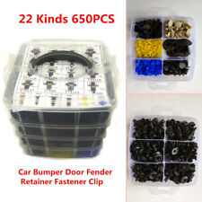 650x Bumper Door Fender Retainer Fastener Car Surface Clip Moulding Fixing Trim