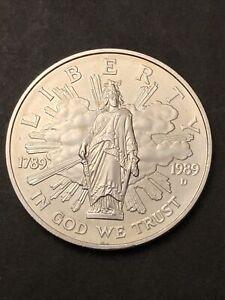 Piece De One Dollar En Argent Commemoratif