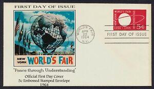 #U546 5c New York World's Fair, Add Cachet-Add FDC **ANY 5=FREE SHIPPING**