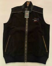 NEW Paul & Shark Yachting Jacket  KIPAWA GILET PILE  BLUE NAVY Waistcoat 2XL XXL