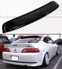 For 02-06 Acura RSX DC5 Type-S JDM Style Smoke Tinted Rear Roof Visor Spoiler