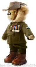 The Great War Limited Edition Private Murray The Diggers Bear w/WW1 Medal Trio