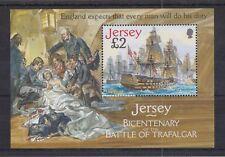 JERSEY MNH UMM STAMP SHEET 2005 SG MS1252 Battle of Trafalgar Bicentenary
