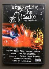 DRAGGING THE LAKE Video Magazine DVD Issue 1 VG+ Black Flag Blink 182 Thrice