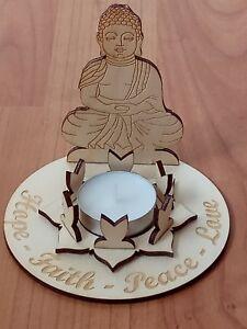 Buddha Tealight holder Kit, spiritual, religion, faith, love, peace