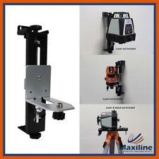 Wall Mount Bracket For Rotary/Cross Line Laser Levels 5/8 11 Thread WB-03