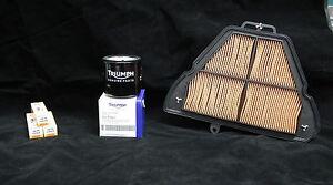 Triumph Tiger 1050 2007-2011 Service Kit Genuine Filters Plugs - Next Day