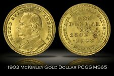 1903 William McKinley Louisiana Purchase Commemorative Gold Dollar PCGS MS65 G$1