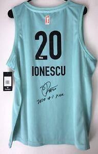 "SABRINA IONESCU ""2020#1 Pick"" SIGNED WNBA NEW YORK LIBERTY AUTO JERSEY FANATICS"